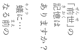 "After: ""Yu Mincho"" base, Kanji characters are ""Yu Gothic"". Vertical texts are not rotated…"