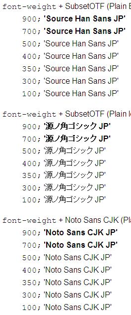 Source Han Sans test